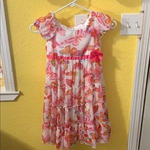 Jona Michelle Girls Butterfly Dress
